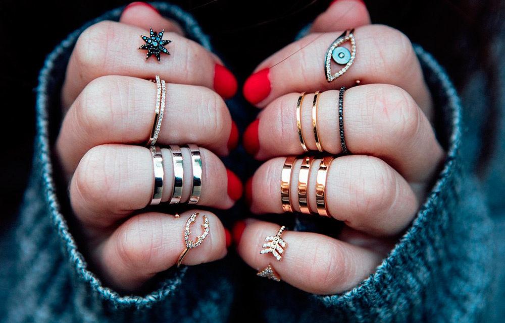 Как носить кольца?
